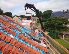 Remplacement de toiture :